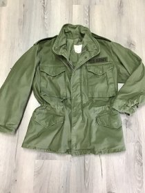 "Field jacket M65 tg. S Short - U.S.Army Original  ""Vintage"""