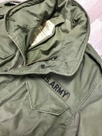 Field jacket M65 tg. Small - 1979 Original