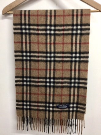 Sciarpa Burberrys Vintage - 100% Cashmere - Made in England