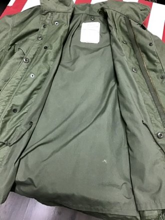 "Field jacket M65 tg. XL Regular - U.S.Army Original  ""Vintage"""